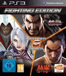 Fightning Edition: Tekken 6 + Tekken Tag Tournament 2 + Soul Calibur V - PS3