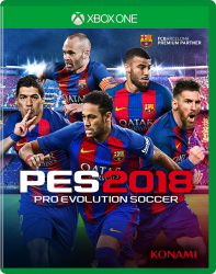 Pro Evolution Soccer 2018 - PES - Seminovo - Xbox One
