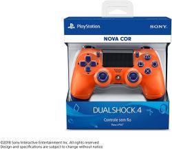 Controle Dualshock 4 Laranja Sunset - PS4