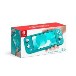Console Nintendo Switch Lite Neon Turquesa - Seminovo - Nintendo Switch