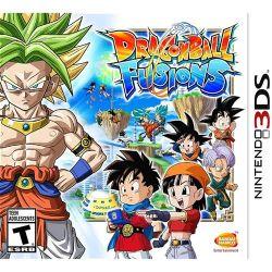 Dragon Ball Fusions - Seminovo - 3DS