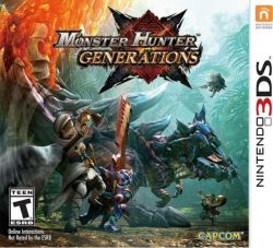 Monster Hunter Generations - Seminovo - Nintendo 3DS