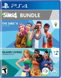 The Sims 4 Plus Island Living - PS4