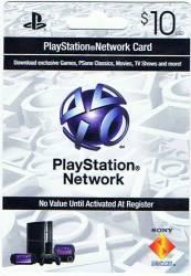 Cartão PSN - Playstation Network Card - $10