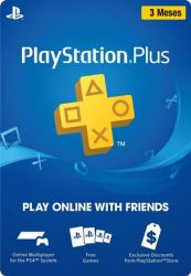 Cartão Playstation Plus 3 Meses Brasil - PSN BR
