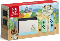 Console New Nintendo Switch Edição Animal Crossing - Bateria Extendida