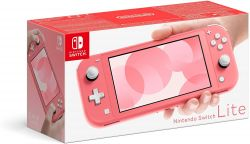 Console Nintendo Switch Lite Neon Coral - Nintendo Switch