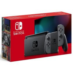 Console New Nintendo Switch Grey - Bateria Extendida