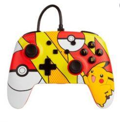 Controle Wired com fio Pokémon Pikachu Pop Art - PowerA