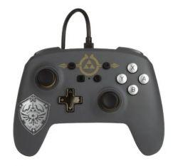 Controle Wired com fio Zelda Hylian Shield - PowerA