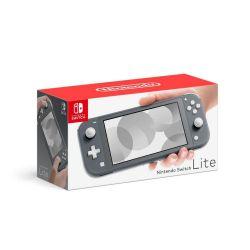 Console Nintendo Switch Lite Grey Cinza - Seminovo - Nintendo Switch