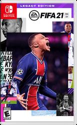 FIFA 21 Legacy Edition - Seminovo - Nintendo Switch