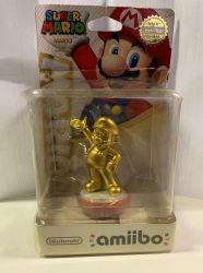 Amiibo: Mario Gold - Ler descrição - Wii U / 3DS / Switch