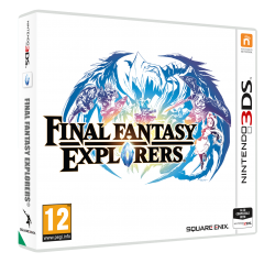 Final Fantasy Explorers - Seminovo - Nintendo 3DS