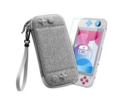 Kit Case Ultra Semi Hard  + Película de Vidro - Nintendo Switch Lite