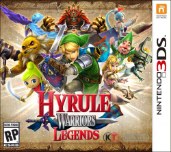 Hyrule Warriors Legends - Seminovo - Nintendo 3DS