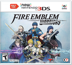 Fire Emblem: Warriors - Seminovo - New Nintendo 3DS