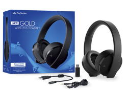 New Headset Wireless Stereo Gold Edition 7.1 - PS3 / PS4 / PSVita / PC