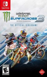 Monster Energy: Supercross 3 - The Official Videogame - Seminovo - Nintendo Switch