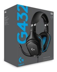 Headset Logitech G432 7.1 Surround - PS4/PS5/XBOX ONE/SWITCH/PC