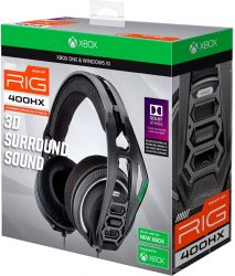 Headset Plantronics Rig 400HX Gaming - Xbox One/Xbox Series/PS4/PS5/Switch