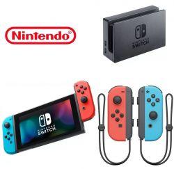 Console Nintendo Switch Neon Blue/Neon Red - Seminovo