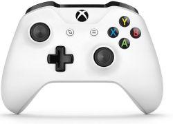 Controle Wireless Branco Bluetooth c/ entrada P2 - Seminovo - Xbox One