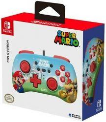 Controle C/fio HoriPad Mini Super Mario - Nintendo Switch