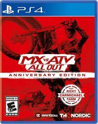 MX VS ATV out Anniversary Edition - PS4