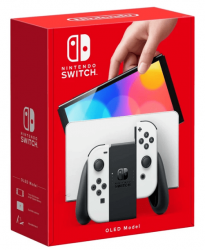 Console Nintendo Switch Oled White 64GB