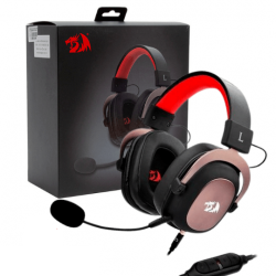 Headset Gamer Redragon Zeus White 2, 7.1, H510W