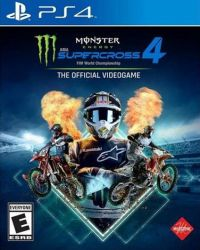 Monster Energy Supercross 4: The Official Videogame - PS4