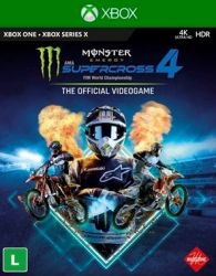 Monster Energy Supercross 4: The Official Videogame - Xbox One / Xbox Series X