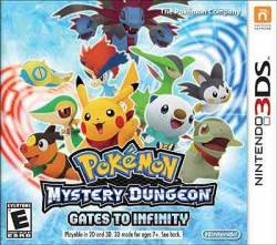 Pokémon Mystery Dungeon: Gates to Infinity - Seminovo - Nintendo 3DS