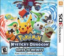Pokémon Mystery Dungeon: Gates to Infinity - Seminovo - Nintendo 3DS