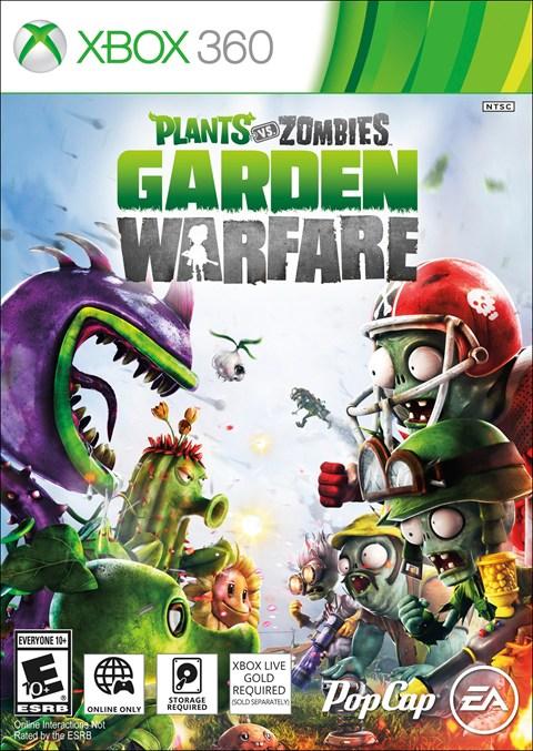 Resultado de imagem para Plants vs Zombies Garden Warfare XBOX360