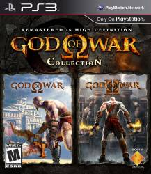 God of War Collection - Seminovo - PS3 (Case Alternativa)