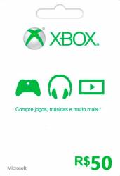 Microsoft Xbox Live 50 - Live Brasil - Xbox 360 e Xbox One