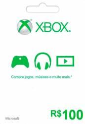 Microsoft Xbox Live 100 - Live Brasil - Xbox 360 e Xbox One