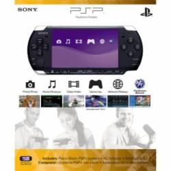 Console PSP 3006 Piano Black + Cartão de 16gb + Brindes
