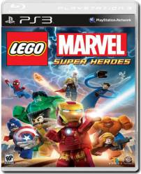 LEGO Marvel Super Heroes - Seminovo - PS3