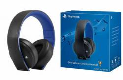 PROMOÇÃO: Headset Wireless Stereo Gold Edition 7.1 - PS3 / PS4 / PSVita / PC