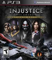 Injustice: Gods Among Us - Ultimate Edition - Seminovo - PS3