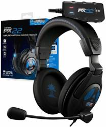 Headset com fio Ear Force Turtle Beach PX22 - PS3 / PS4 / PC / Xbox 360