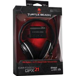 Headset com fio Ear Force Turtle Beach DPX21 Dolby(R) 7.1 - PS3 / PS4 / PC / Xbox 360