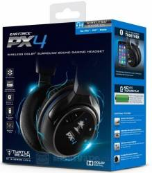 Headset Turtle Beach Wireless PX4 - PS3 / PS4 / Xbox 360 / PC