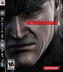 Metal Gear Solid 4: Guns of the Patriots - Seminovo - PS3