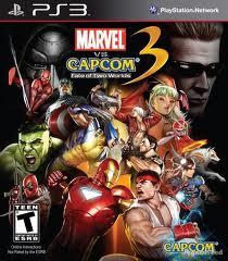 Marvel vs Capcom 3: Fate of Two Worlds - Seminovo - PS3