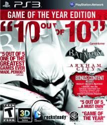 Batman Arkham City: Game of the Year Edition - Seminovo - PS3