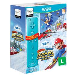 Mario & Sonic at the Sochi 2014 Olympic Winter Games + Remote Plus - Wii U